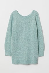 Handm H M Mama Off The Shoulder Sweater Green
