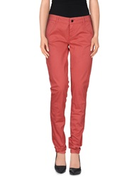 Liu Jo Casual Pants Coral