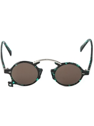 Jean Paul Gaultier Vintage Round Frame Sunglasses Green