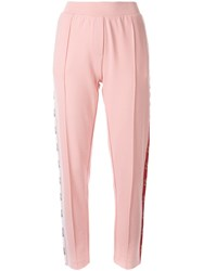 Zoe Karssen Elasticated Waistband Trousers Pink