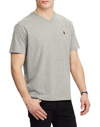 Polo Big And Tall Classic Fit V Neck Cotton Tee Dark Vintage