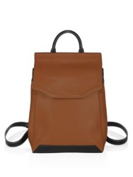 Rag And Bone Pilot Leather Backpack Tan