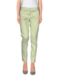 Chlotilde Trousers Casual Trousers Women Light Green