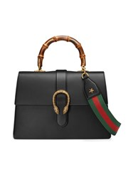 Gucci Dionysus Top Handle Bag Women Bamboo Leather Nylon One Size Black