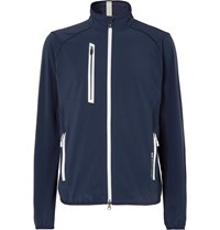 Rlx Ralph Lauren Par Stretch Tech Jersey Golf Jacket Blue