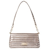 Lk Bennett L.K. Bennett Heidi Leather Shoulder Bag Silver