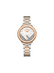 Fendi Run Away 28Mm Watch Grey