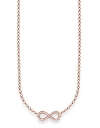 Thomas Sabo Sterling Silver Infinity Pendant Necklace