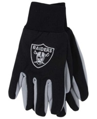 Forever Collectibles Oakland Raiders Palm Gloves