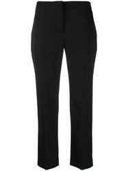 Alexander Mcqueen Cropped Trousers Black