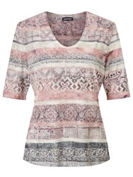 Gerry Weber Short Sleeve Printed T Shirt Multi