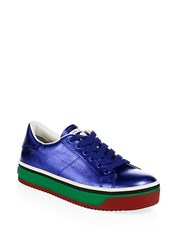 Marc Jacobs Empire Multicolored Sole Leather Platform Sneakers