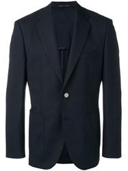 Hugo Boss Single Breasted Blazer Blue