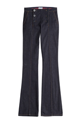 Red Valentino Denim Sailor Pants