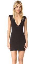 Bec And Bridge Reversible Rib V Dress Black