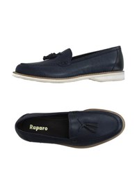 Raparo Footwear Moccasins Men Slate Blue
