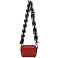 Givenchy Red And Black Mc3 Messenger Bag