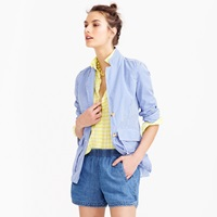 J.Crew Drapey Chambray Pull On Short