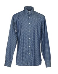 Borsa Denim Shirts Blue