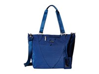 Baggallini Avenue Tote Pacific Tote Handbags Blue