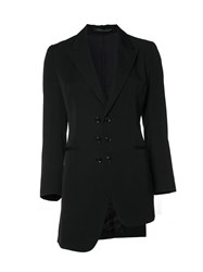 Y's 'Unbalance' Jacket Black