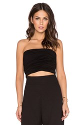Aq Aq Carra Crop Top Black
