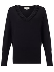 Alice By Temperley Somerset By Alice Temperley Frill Neck Jumper Black