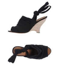 Apepazza High Heeled Sandals Black