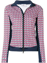 Rossignol Printed Zipped Jacket Red