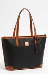 Dooney And Bourke 'Charleston Pebble Grain Collection' Water Resistant Tumbled Leather Shopper Black