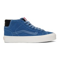 Vans Blue Og Mid Skool Lx Sneakers