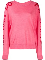Zadig And Voltaire Girls Can Do Jumper Pink