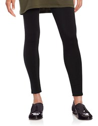 Eileen Fisher Petite Solid Fitted Pants Black