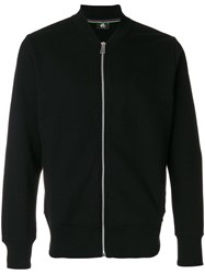 Paul Smith Ps By Zip Up Jacket Men Cotton Xl Black