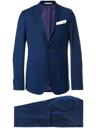 Paoloni Classic Two Piece Suit Blue