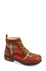 Women's Alegria 'Kylie' Leather Boot Pumpkin Leather