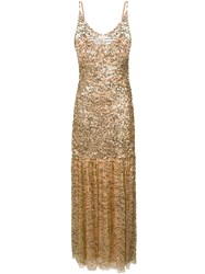 Aniye By Sequinned Cocktail Dress Gold