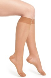 Women's Item M6 Sheer Compression Knee High Socks