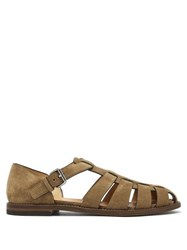 Church's Fisherman Suede Sandals Brown