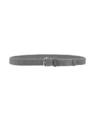 Fabrizio Mancini Belts Grey