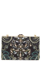 Ted Baker London Crystal Embellished Frame Clutch