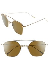 Spektre Women's Dolce Vita 54Mm Aviator Sunglasses Gold Tobacco Gold Tobacco