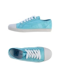 Civic Duty Low Tops And Trainers Turquoise
