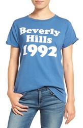 Wildfox Couture Women's Beverly Hills 1992 Graphic Tee