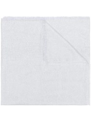 Blanca Wide Size Scarf White