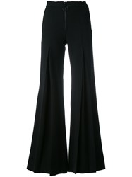 Off White Super Flared Trousers Black