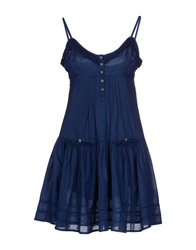 Guru Short Dresses Blue