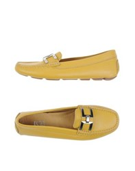 Ice Iceberg Footwear Moccasins Women Yellow