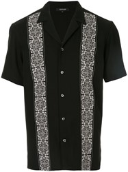 Loveless Tile Print Shirt Black