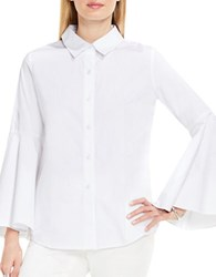 Vince Camuto Bell Sleeve Shirt Ultra White